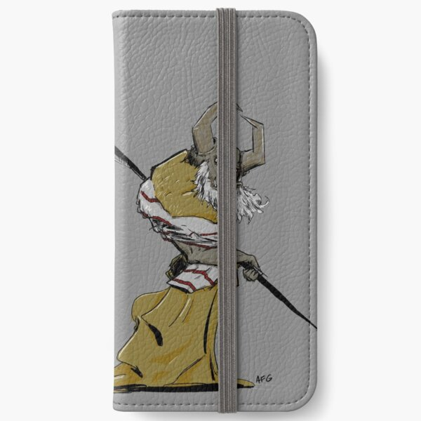 Horned Poleman iPhone Wallet