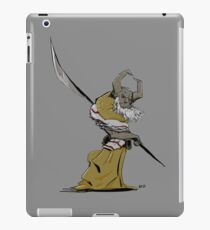 Horned Poleman iPad Case/Skin