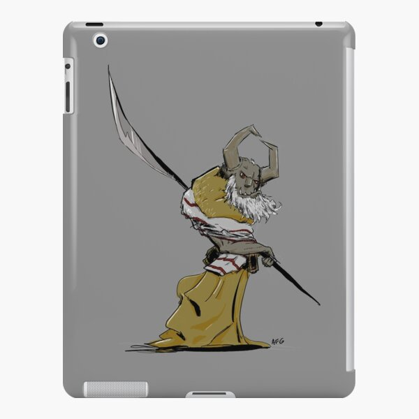 Horned Poleman iPad Snap Case