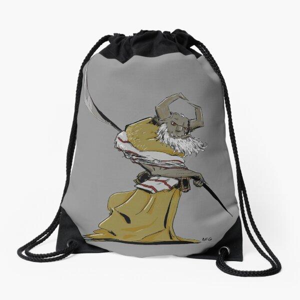 Horned Poleman Drawstring Bag