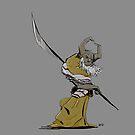 Horned Poleman by Aaron Gonzalez