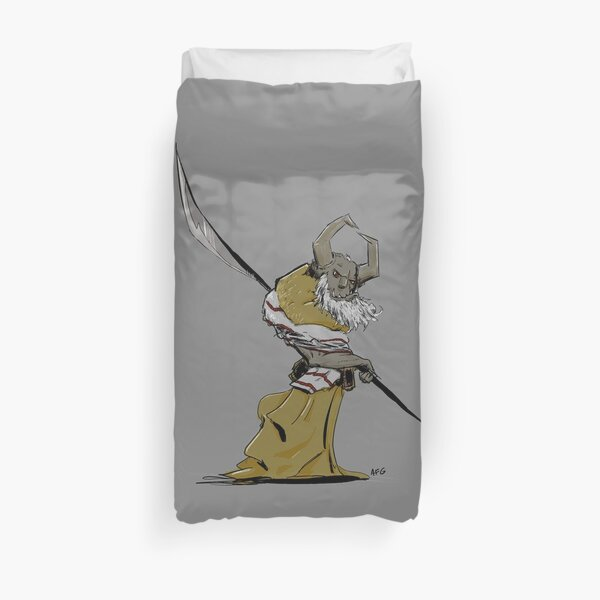Horned Poleman Duvet Cover