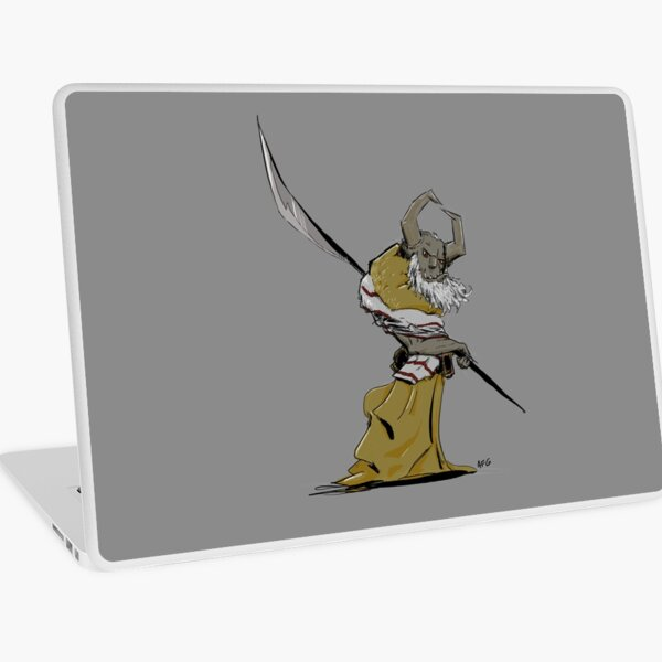 Horned Poleman Laptop Skin