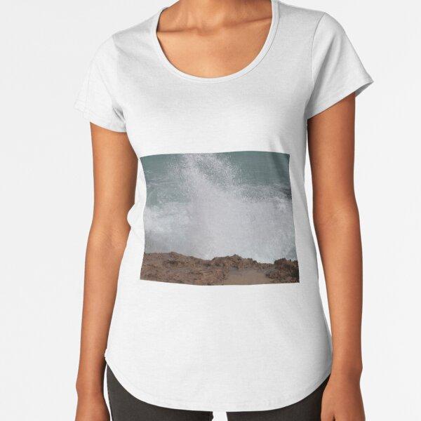 The Blowhole, Beachport, Limestone Coast, South Australia. Premium Scoop T-Shirt