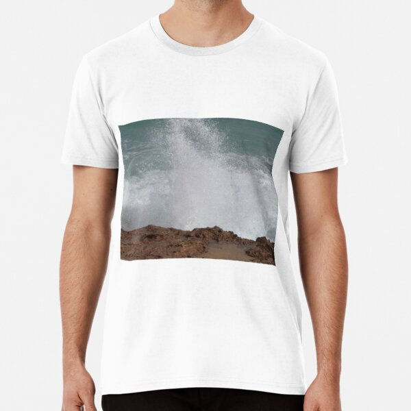 The Blowhole, Beachport, Limestone Coast, South Australia. Premium T-Shirt
