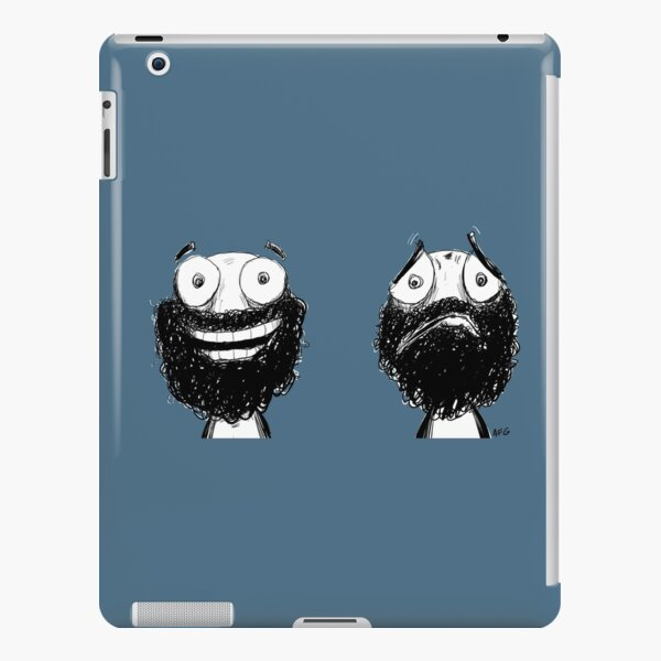 Happy and Sad iPad Snap Case