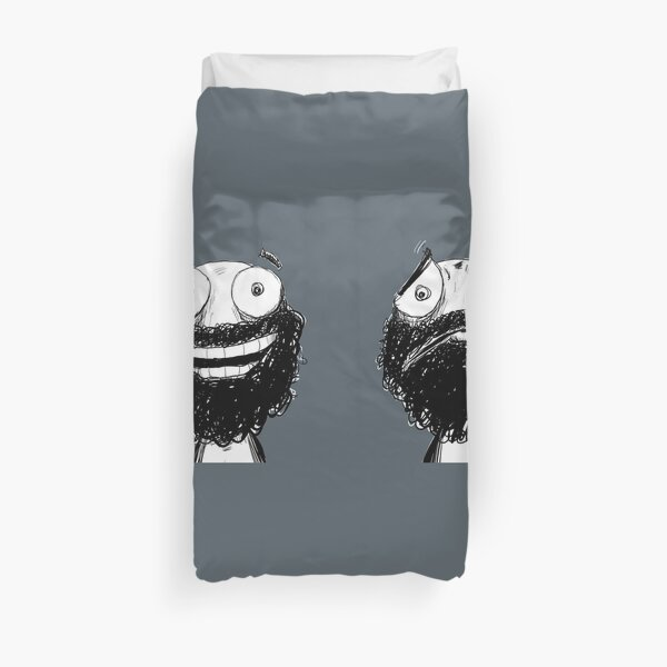 Happy and Sad Duvet Cover
