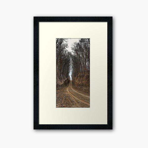 Passageway Framed Art Print