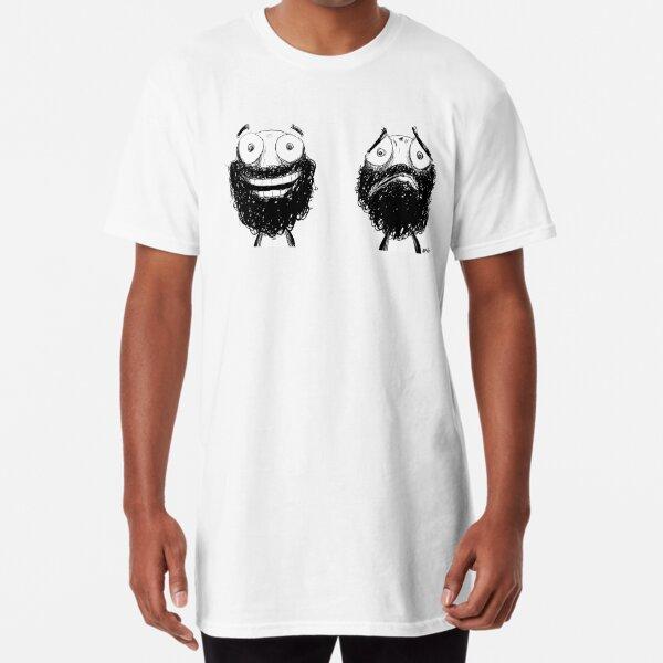 Happy and Sad Long T-Shirt