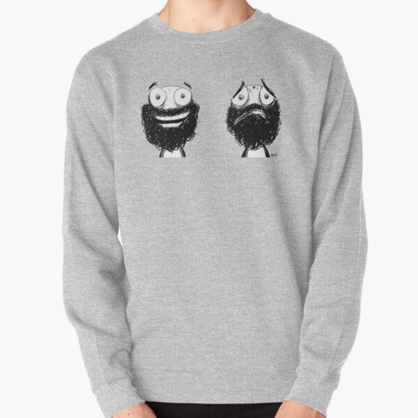 Happy and Sad Pullover Sweatshirt