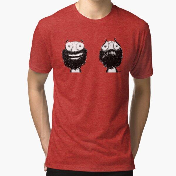 Happy and Sad Tri-blend T-Shirt