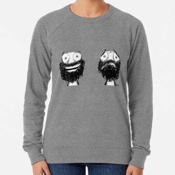 Happy and Sad Lightweight Sweatshirt