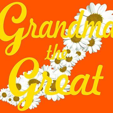 Grandma the Great (yellow) by SharonMurphy