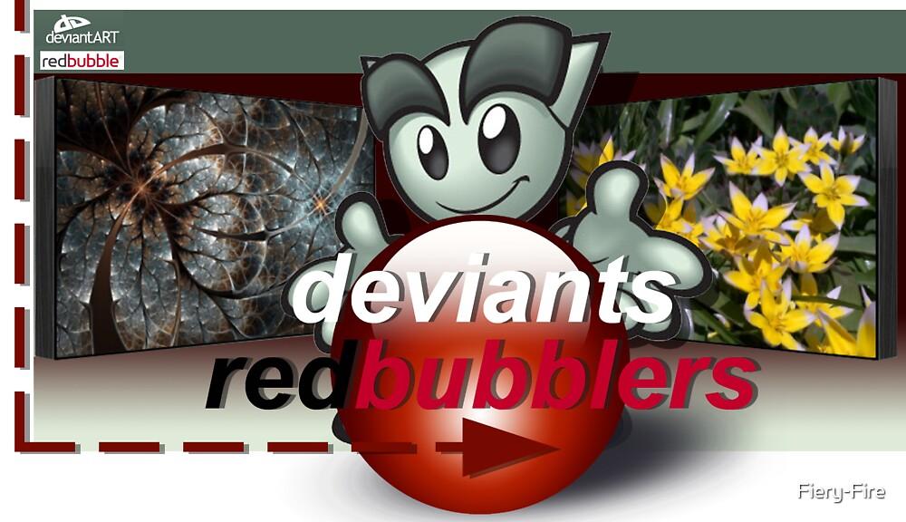 DeviantsRedbubblers by Fiery-Fire