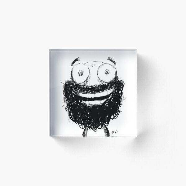 Happy! Acrylic Block