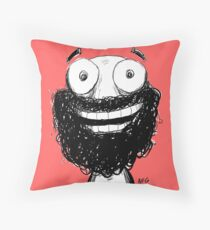 Happy! Throw Pillow
