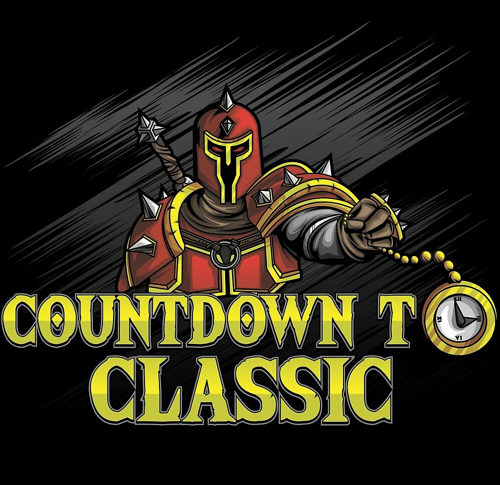 Countdown To Classic Merch by joshcorbo82