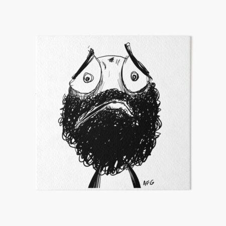 Sad! Art Board Print
