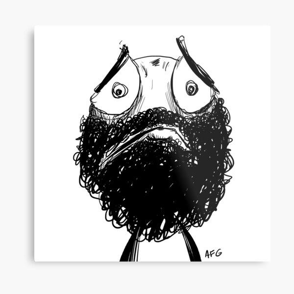 Sad! Metal Print