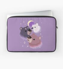 Three Bear Moon Laptop Sleeve