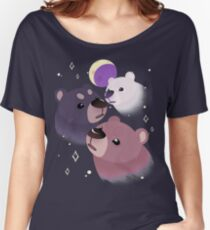 Three Bear Moon Relaxed Fit T-Shirt