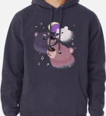 Three Bear Moon Pullover Hoodie