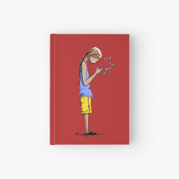 Texting Hardcover Journal