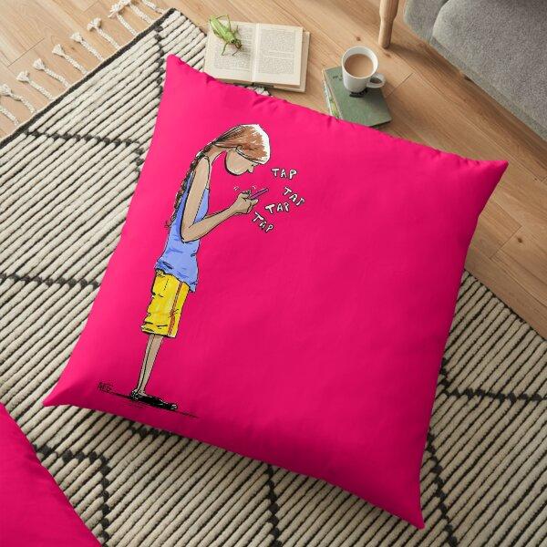 Texting Floor Pillow