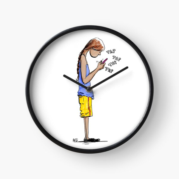 Texting Clock