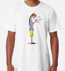 Texting Long T-Shirt