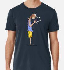 Texting Men's Premium T-Shirt