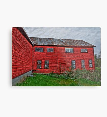 old tannery building Metal Print