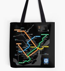 STM Montreal Metro Tote Bag