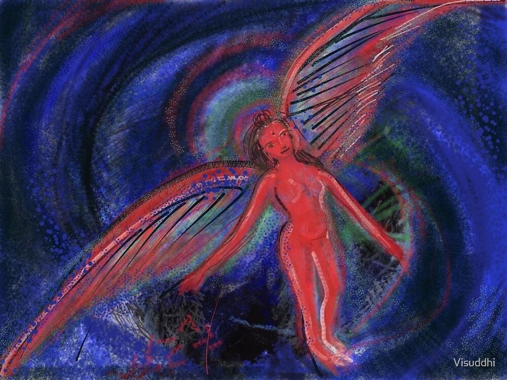 Red Angel by Visuddhi