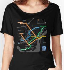 Métro STM Montréal T-shirts coupe relax
