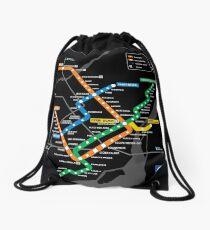 STM Montreal Metro Drawstring Bag