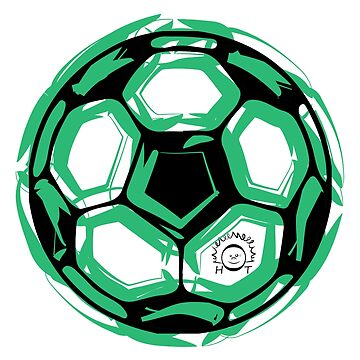 Soccer soccer balls illustration and drawing by PM-TShirts