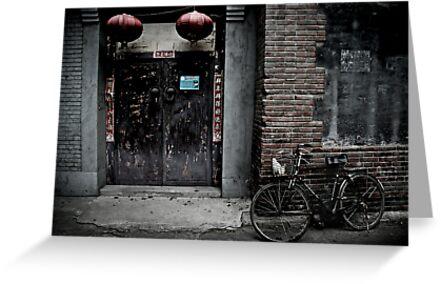 Hutongs of Beijing by Vincent Riedweg