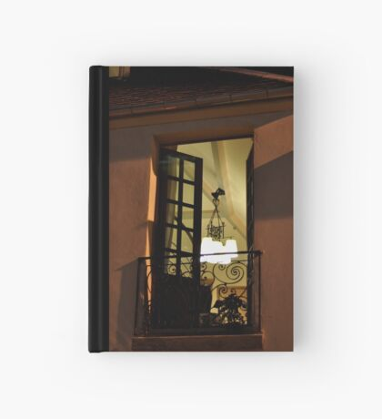 salon window Hardcover Journal