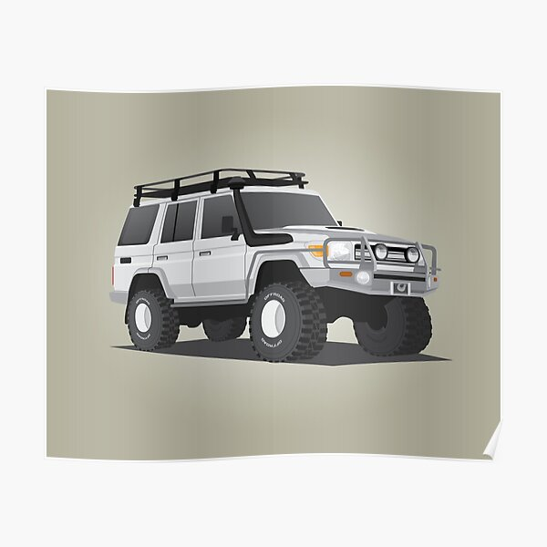 LandCruiser Wagon Poster