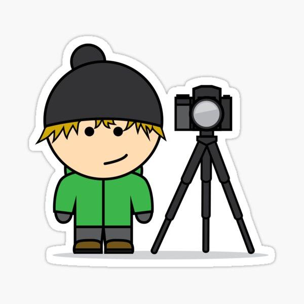 I Am - Photographer Sticker