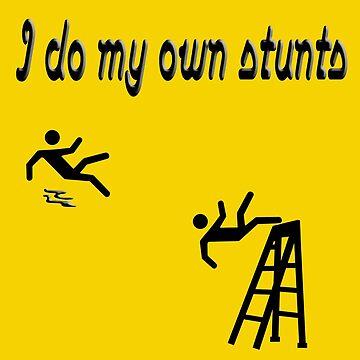 I fall a lot. I mean, I do my own stunts!  by SharonMurphy