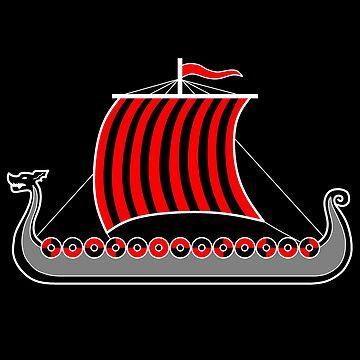 barco vikingo de ArtjomDesign