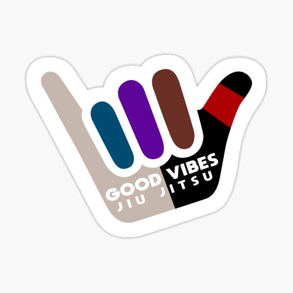 Good Vibes Jiu Jitsu Sticker