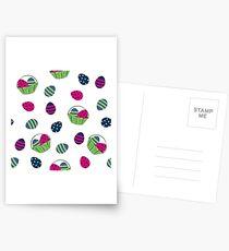 hübsches Osterdesign Postkarten