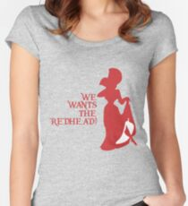 We Wants the Redhead! Women's Fitted Scoop T-Shirt