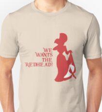 Wir wollen die Rothaarigen! Slim Fit T-Shirt