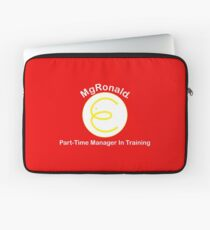 MgRonald Part Time Manager Trainee Laptop Sleeve