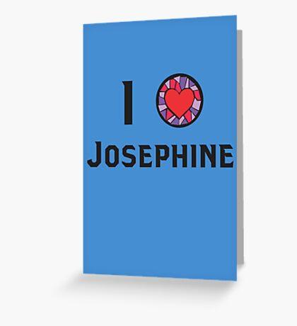 I Heart Josephine Greeting Card