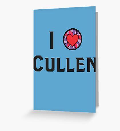 I Heart Cullen Greeting Card